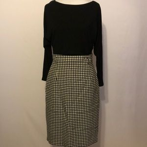 Lauren Ralph Lauren black and white dress Size 4